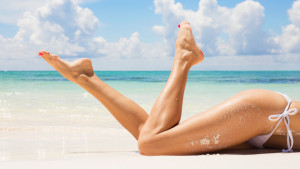 Sexy women legs on the beach; Shutterstock ID 274574852; PO: TODAY.com